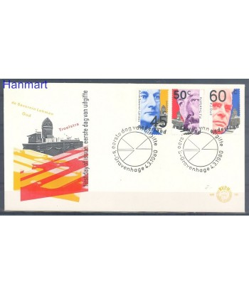 Holandia 1980 Mi 1151-1153 FDC