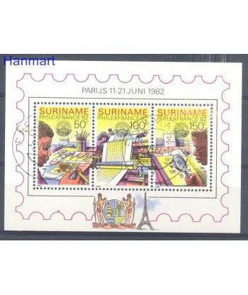Surinam 1982 Mi bl 34 Stemplowane