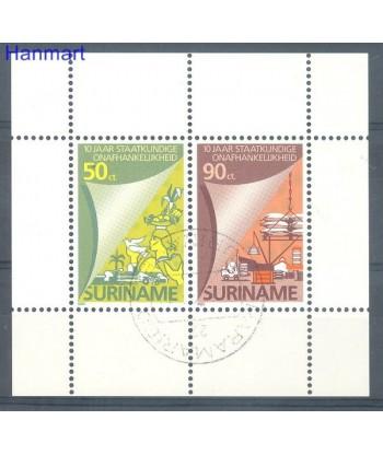 Surinam 1985 Mi bl 42 Stemplowane