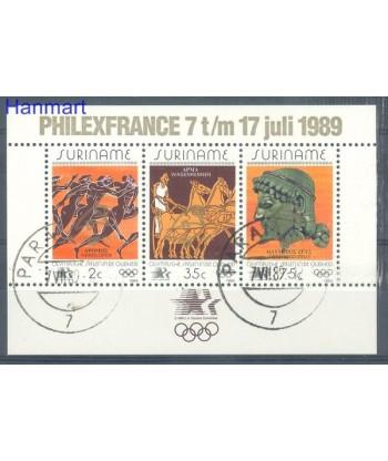 Surinam 1989 Mi bl 50 Stemplowane