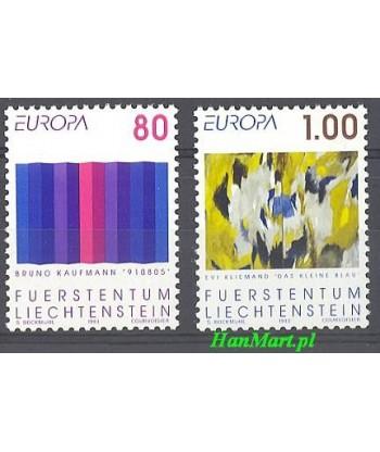 Liechtenstein 1993 Mi 1054-1055 Czyste **