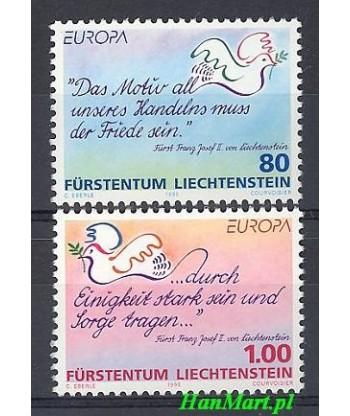 Liechtenstein 1995 Mi 1103-1104 Czyste **