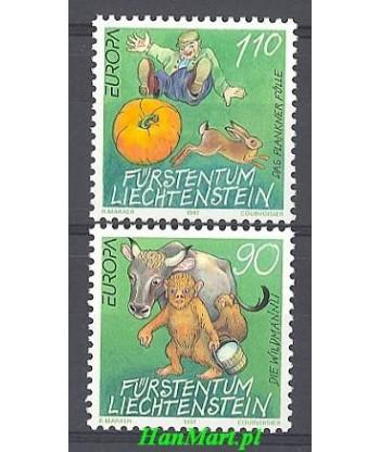 Liechtenstein 1997 Mi 1145-1146 Czyste **