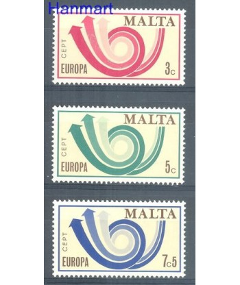 Malta 1973 Mi 472-474 Czyste **
