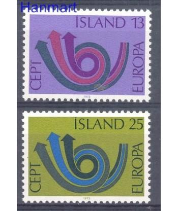 Islandia 1973 Mi 471-472 Czyste **