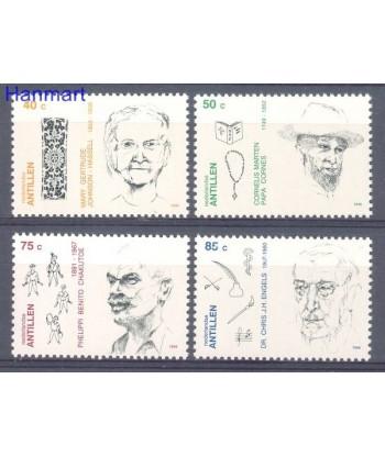 Antyle Holenderskie 1996 Mi 870-873 Czyste **