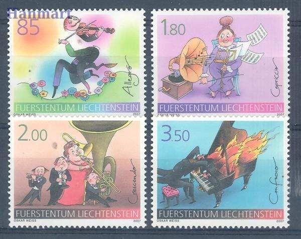 Liechtenstein 2007 Mi 1438-1441 MNH
