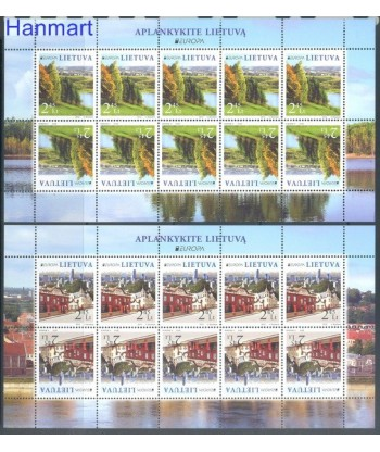 Litwa 2012 Mi 1103-1104 Czyste **