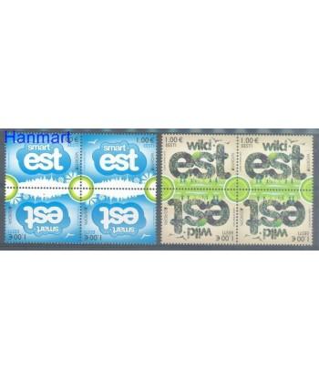 Estonia 2012 Mi 733-734 Czyste **