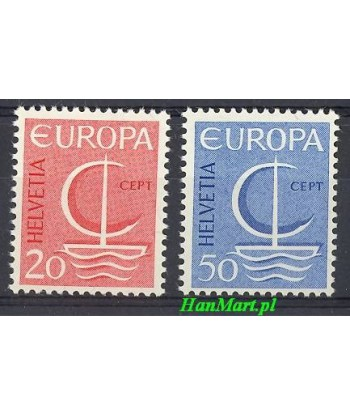 Szwajcaria 1966 Mi 843-844 Czyste **