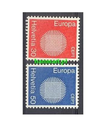 Szwajcaria 1970 Mi 923-924 Czyste **