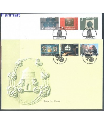 Finlandia 2005 Mi 1738-1743 FDC