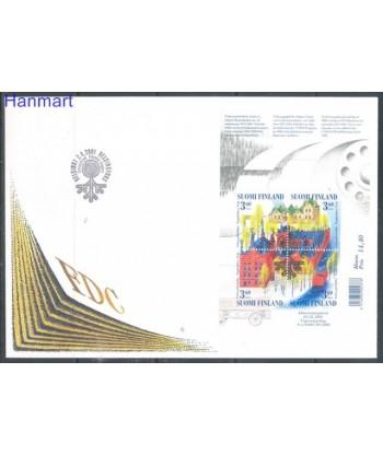 Finlandia 2001 Mi bl 26 FDC