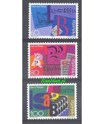 Szwajcaria 1994 Mi 1520-1522 Czyste **