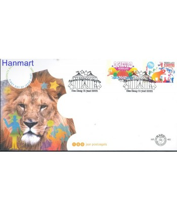 Holandia 2002 Mi 2011-2012 FDC