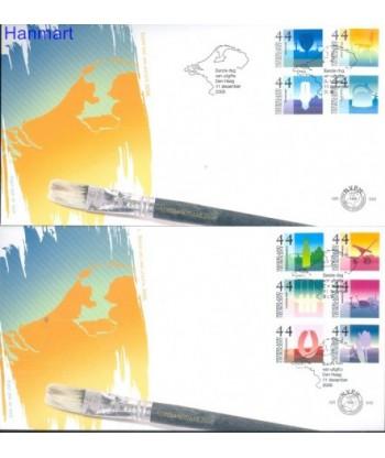Holandia 2006 Mi 2463-2472 FDC