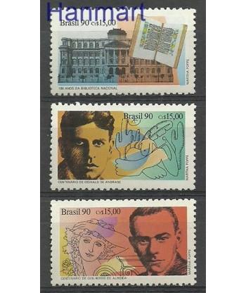 Brazylia 1990 Mi 2383-2385 Czyste **