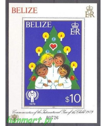 Belize 1980 Mi bl 17 Czyste **