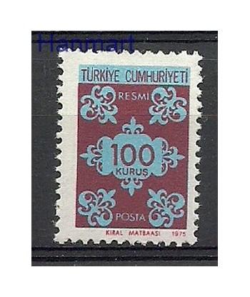 Turcja 1975 Mi die 140 Czyste **