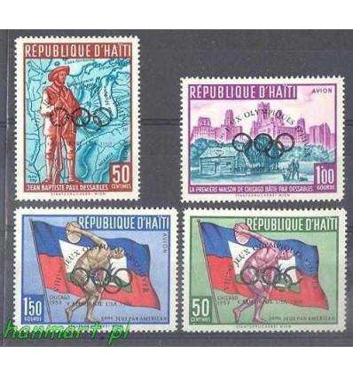 Haiti 1960 Mi 595-598 Czyste **
