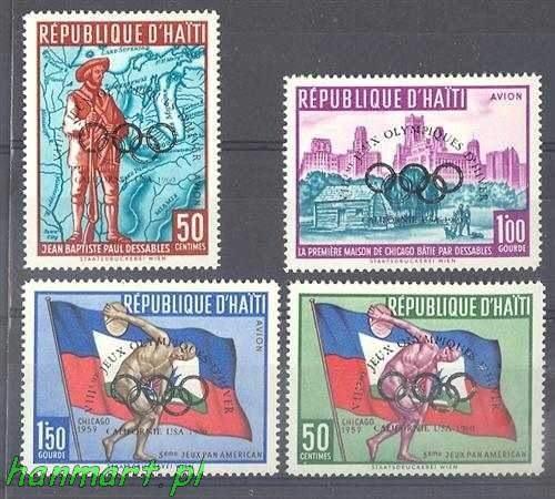 Haiti 1960 Mi 595-598 MNH