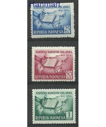 Indonezja 1956 Mi 162-164 Z podlepka *