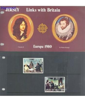 Jersey 1980 Mi 219-222 Czyste **