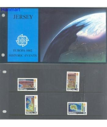 Jersey 1982 Mi 278-281 Czyste **