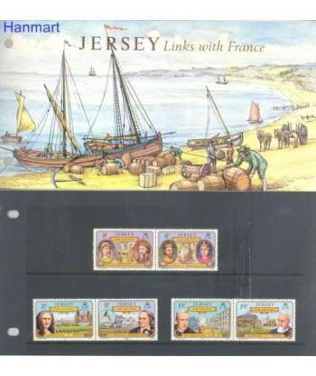Jersey 1982 Mi 282-287 Czyste **