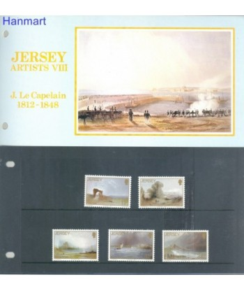 Jersey 1987 Mi 420-424 Czyste **