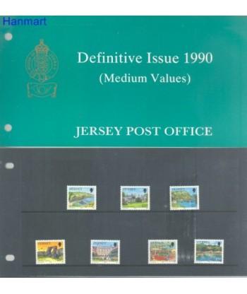 Jersey 1990 Mi 501-507 Czyste **