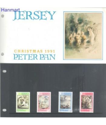 Jersey 1991 Mi 559-562 Czyste **