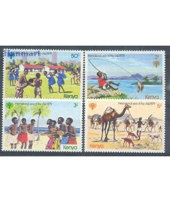 Kenia 1979 Mi 135-138 Czyste **