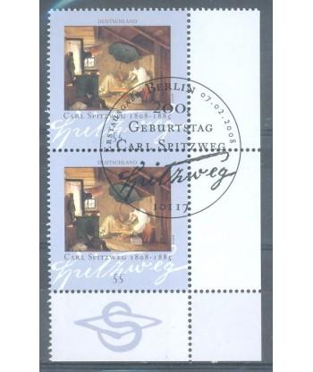 Niemcy 2008 Mi par 2647 Stemplowane