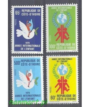 Wybrzeże Kości Słoniowej 1979 Mi 587-590 Czyste **
