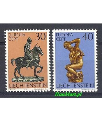 Liechtenstein 1974 Mi 600-601 Czyste **