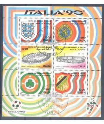 Włochy 1990 Mi bl 8 Stemplowane