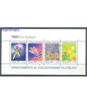 Włochy 1999 Mi bl 19 Stemplowane