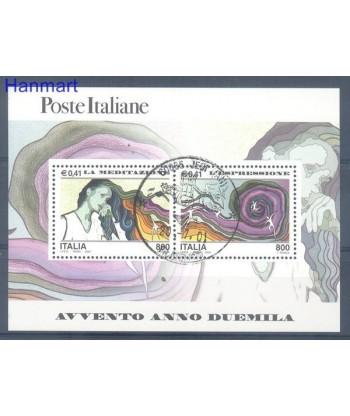 Włochy 2000 Mi  Stemplowane