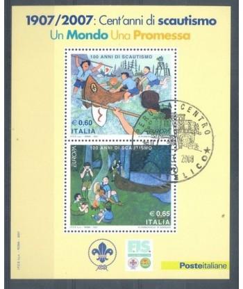 Włochy 2007 Mi  Stemplowane