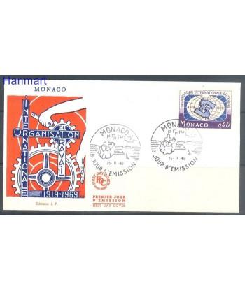 Monako 1969 Mi  FDC