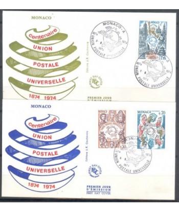 Monako 1974 Mi  FDC