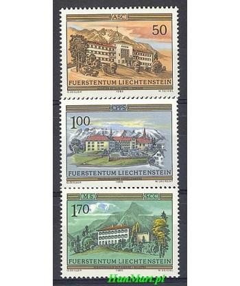 Liechtenstein 1985 Mi 868-870 Czyste **