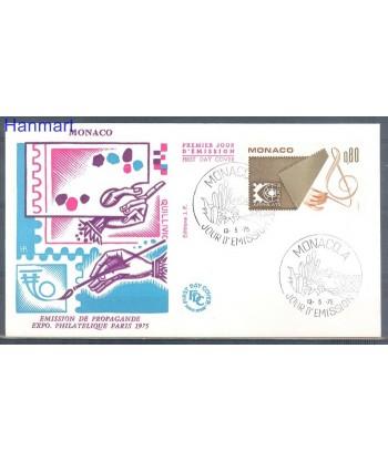 Monako 1975 Mi  FDC