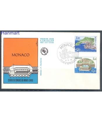 Monako 1978 Mi 1313-1314 FDC