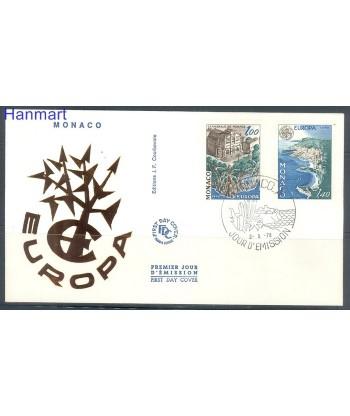 Monako 1978 Mi 1319-1320 FDC