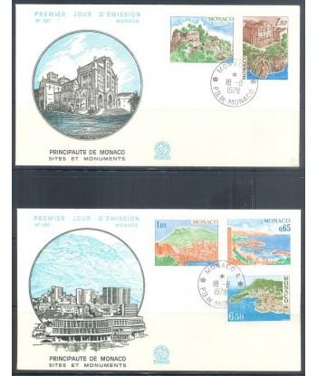Monako 1978 Mi 1331-1335 FDC