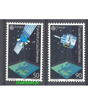 Liechtenstein 1991 Mi 1011-1012 Czyste **