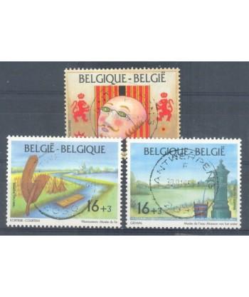 Belgia 1995 Mi 2634-2636 Stemplowane