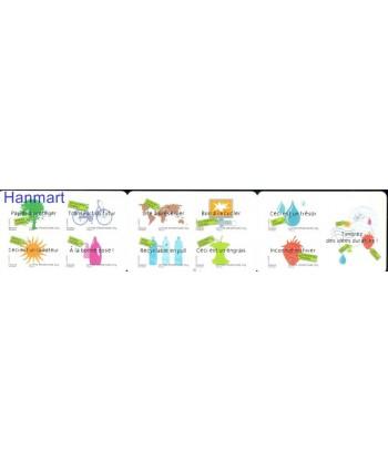 Francja 2008 Mi 4432-4441 Czyste **